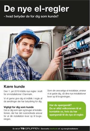 Brochure med nye el-regler